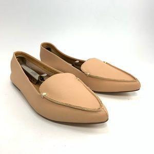 J. Crew Warm Beige Edie leather loafers